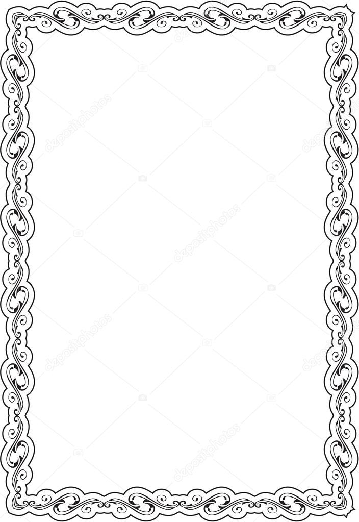 Nice frame — Stock Vector © buravtsoff #76694069