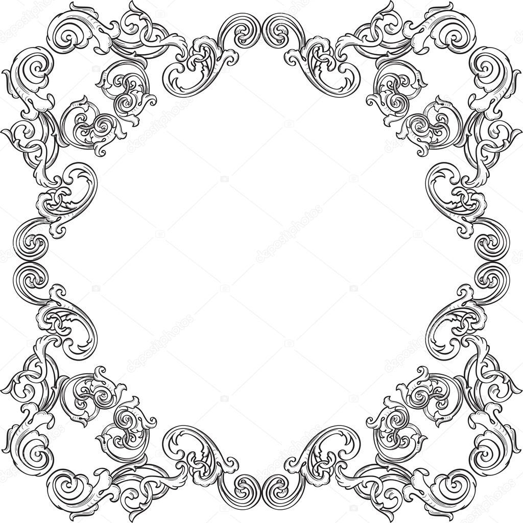Orient richtiger verzieren Kunst-Rahmen — Stockvektor © buravtsoff ...