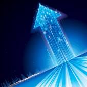 Růst technologie šipka