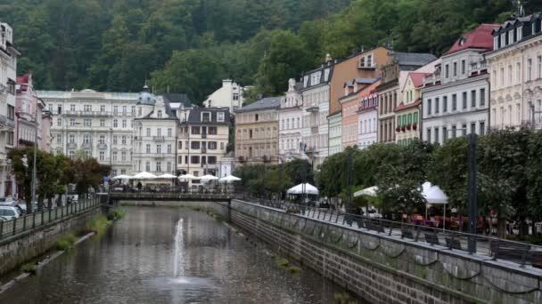 Karlovy Vary Carlsbad, říčky. Česká republika