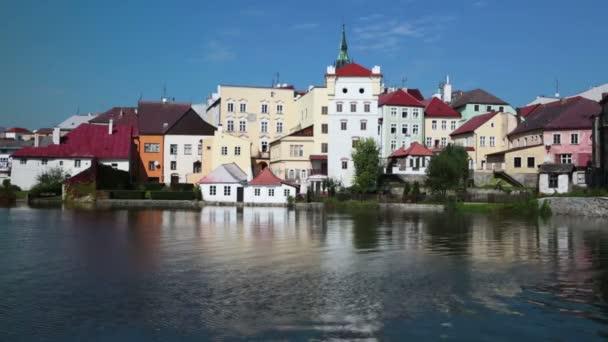 zámku Jindřichův hradec v jižních Čechách, Česká republika