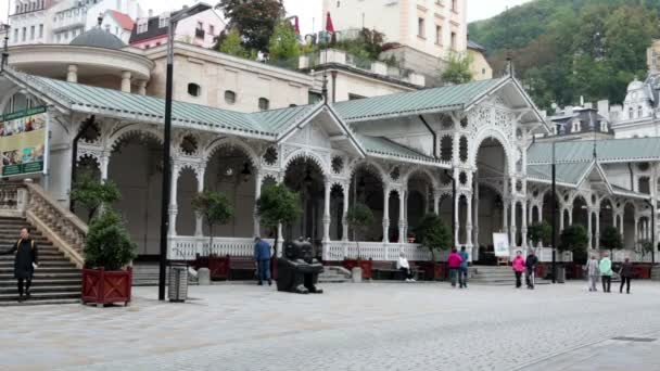Mlýnská kolonáda, Karlovy Vary, Česká republika