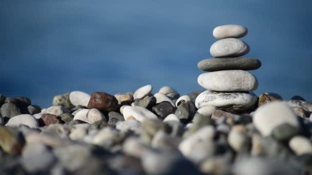 pebble tower closeup