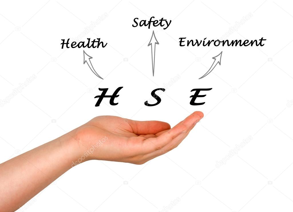 Diagram Of Health And Safety Environment Stock Photo Vaeenma