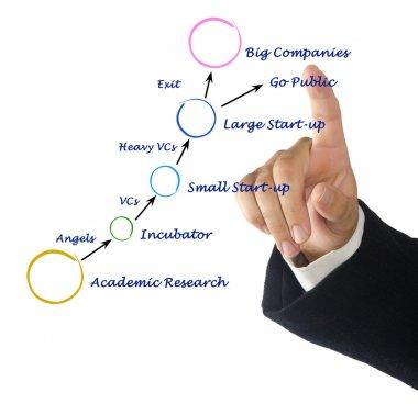 Innovative company growth