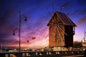 Fotografie Nesebar town HDR sunset