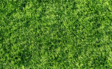 Green artificial grass background