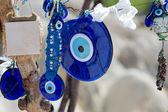 Tradiční modré oči zla. Oblíbená turecká suvenýr