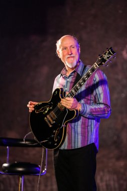 John Scofield playing live music at The Cracow Jazz All Souls Day Festival in The Wieliczka Salt Mine.