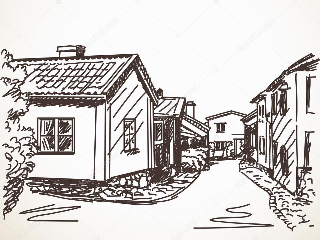 Dibujos Para Colorear De Casas De Campo: Dibujos De Casas De Campo. Cool Dibujos De Casa Para
