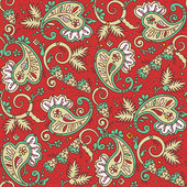 Photo Seamless paisley background