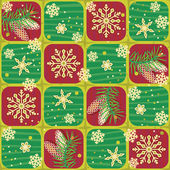Photo Seamless Christmas, winter or New Year pattern