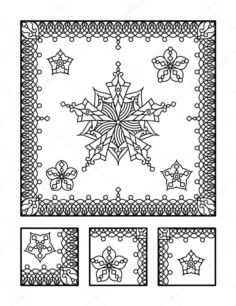 Printable coloring pages Stock Vectors, Royalty Free Printable ...
