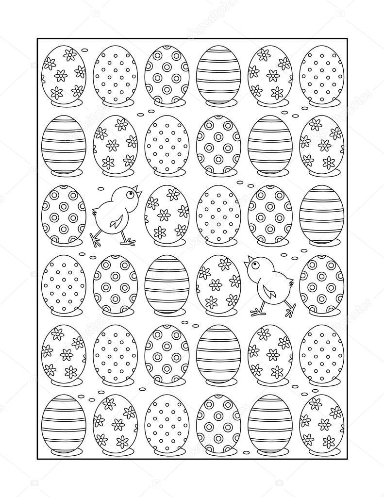 Página para colorear para adultos y niños o blanco y negro fondo ...