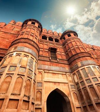 Agra Fort, Agra, Uttar Pradesh, India, Asia