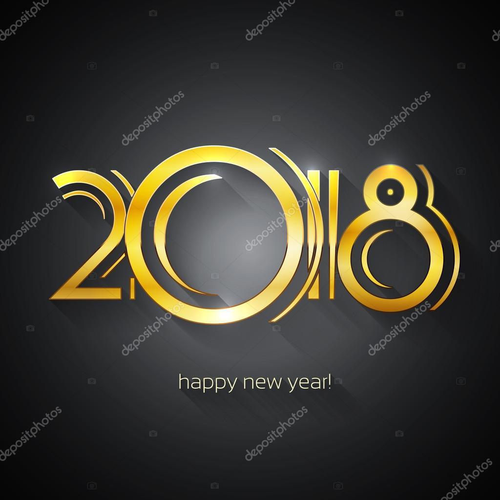 Exceptionnel Vecteurs pour 2018, Illustrations libres de droits pour 2018  NI74