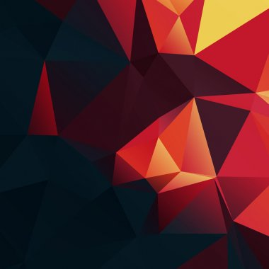 Abstract Colorful Lowpoly  Background