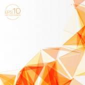 3D pozadí oranžové abstraktní pletivo s kruhy