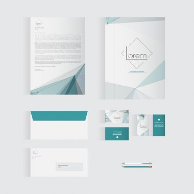 Blue Stationery Template Design for Your Business