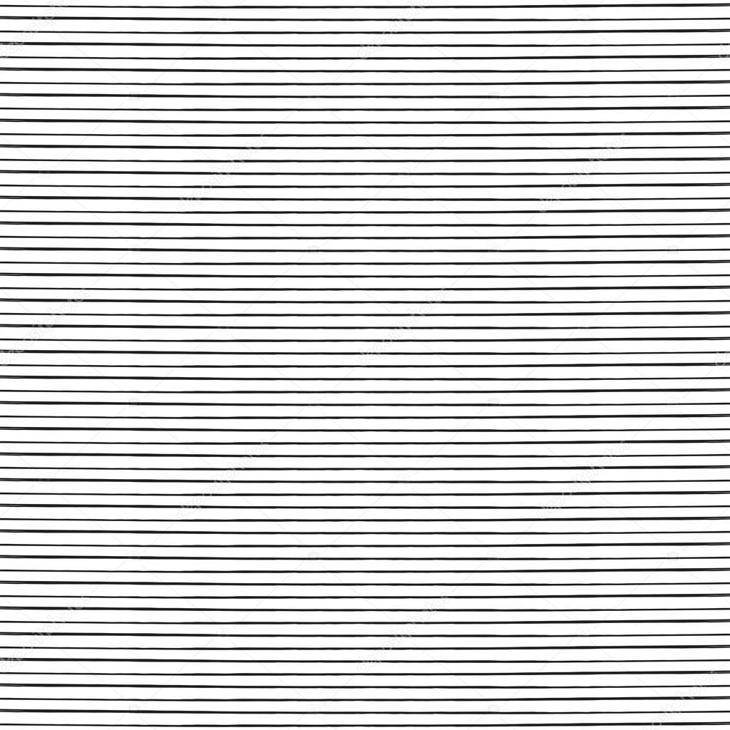 Straight Line Artrage : 손으로 그린 간단한 직선 — 스톡 벡터 hunthomas