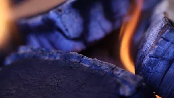 Hořící horké plameny
