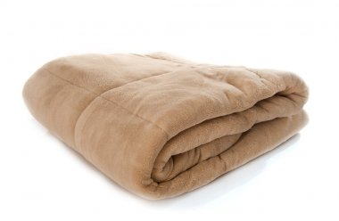 a brown blanket