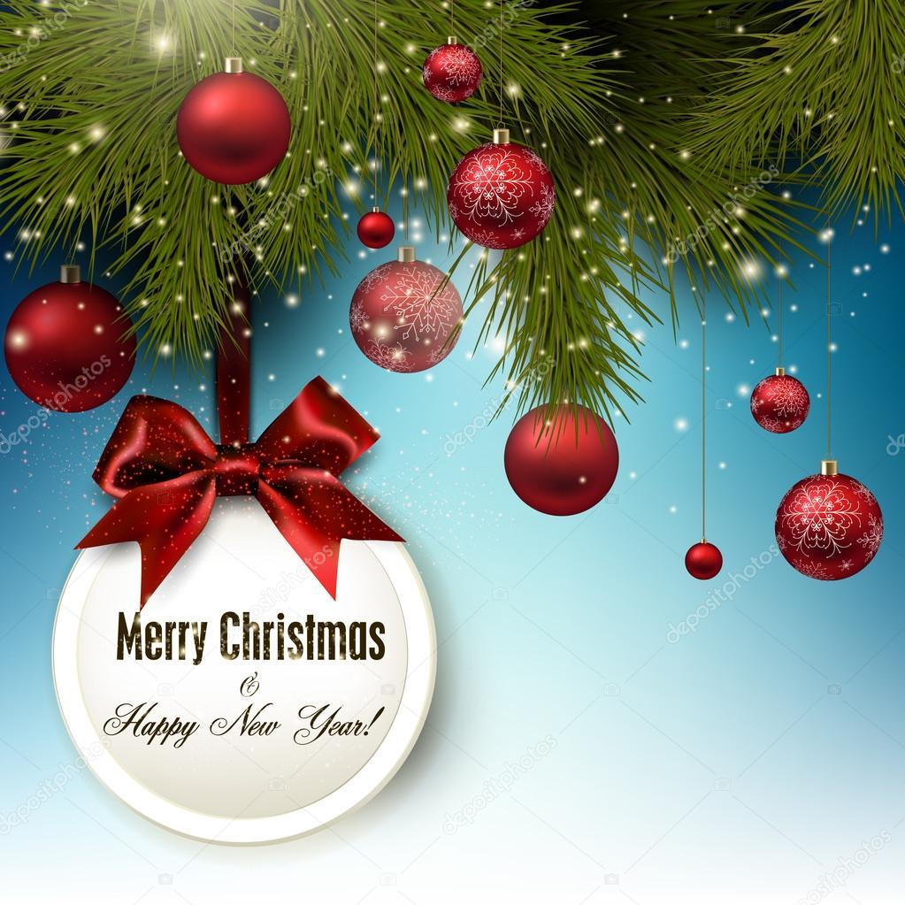 weihnachtsgeschenk-karte — Stockvektor © boroboro #53769549