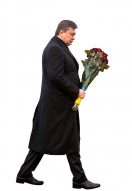 Former president of Ukraine Viktor Yanukovych
