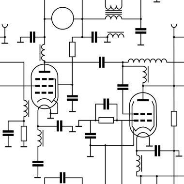 Pattern with radio scheme