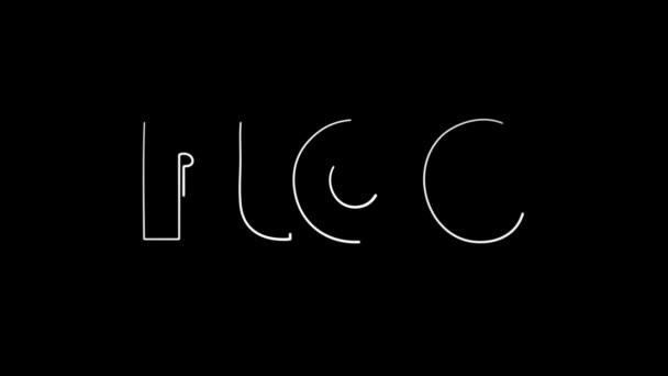 Blog animated word