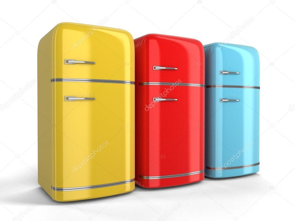 Retro Kühlschrank Groß : D bild des retro kühlschrank u stockfoto panama