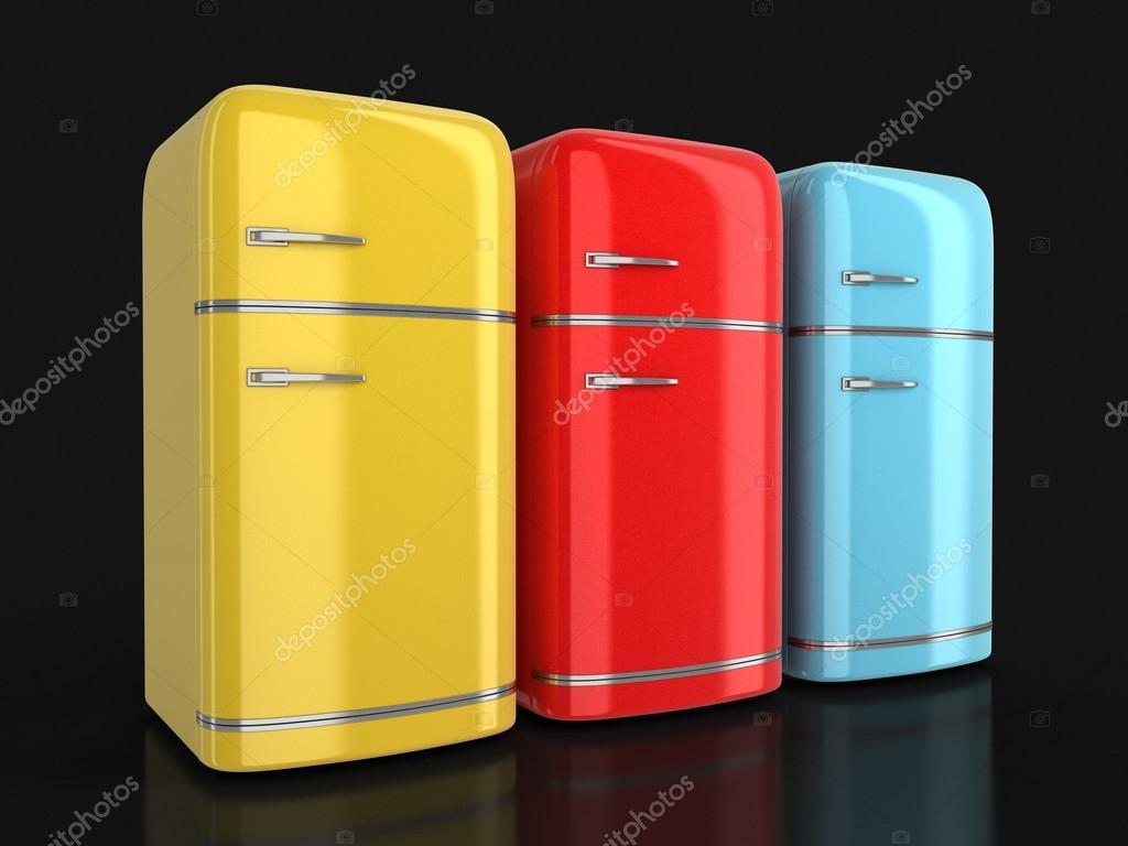 Retro Kühlschrank Usa : D bild des retro kühlschrank u stockfoto panama