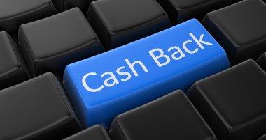 Cash back key concept