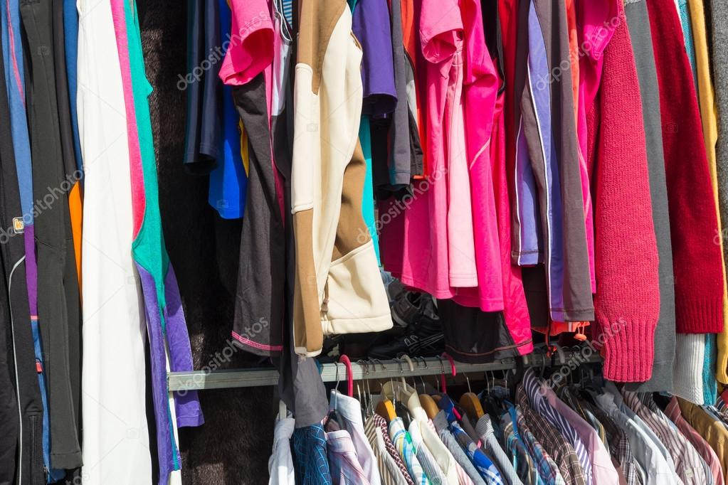Second Hand Clothes Stock Photo C Olafspeier 100929080
