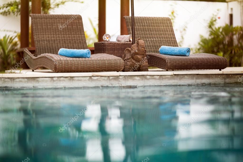 Swimming pool, Bali style