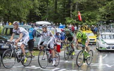 Group of Cyclists - Tour de France 2014