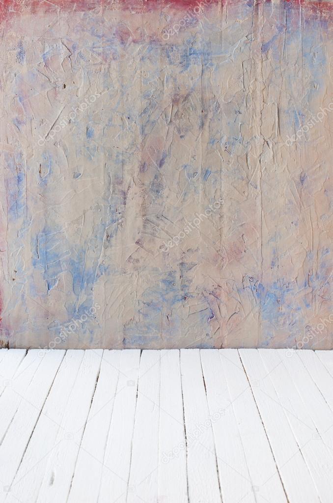 Gut gemocht Leeren einer Farbe Interieur der Zimmer ohne Decke aus Zement Wand BV27