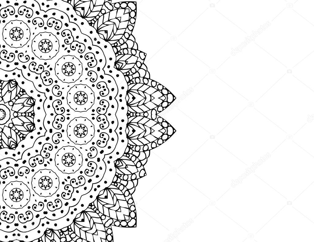 zentangle muster stockfoto - Zentangle Muster