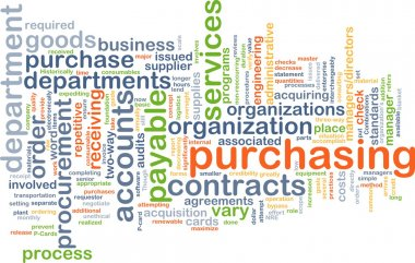 Purchasing wordcloud concept illustration