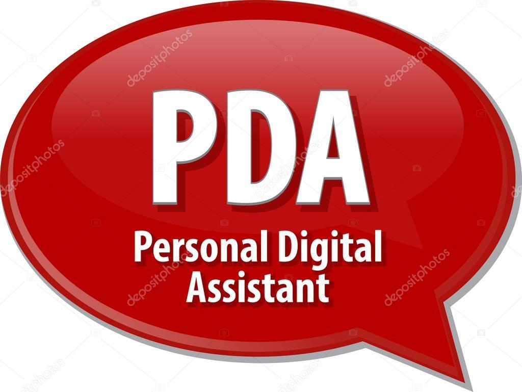Acronym of pda