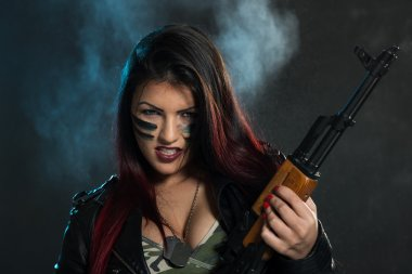 Dangerous Armed Woman