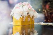 svatební dekorace stolu