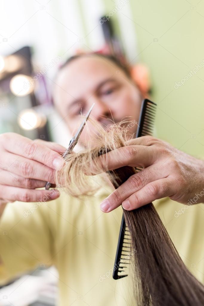 Hair Cutting Stock Photo Milanmarkovic 84431422