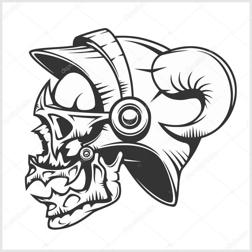 Tribal Death Tattoo: Cráneo Tatuajes Y Tribales Diseño