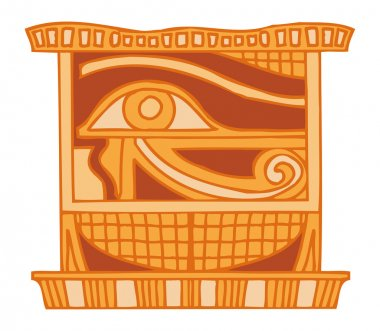 "Картина, постер, плакат, фотообои ""древнее египетское украшение"", артикул 56931931"
