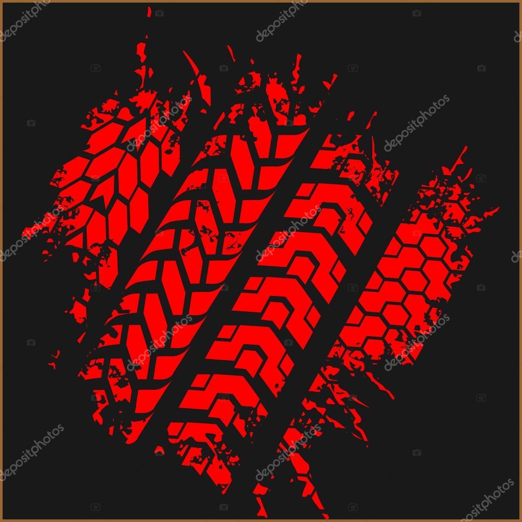 traces de pneu set vector image vectorielle digital tire tracks clip art free tire tracks clip art free