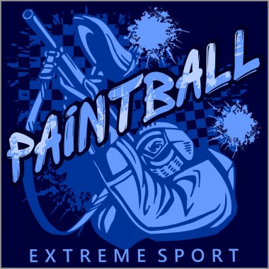 Paintball Team - extreme sport