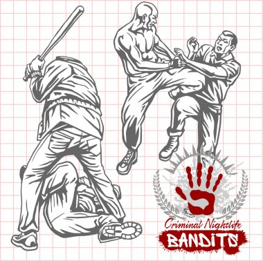 Bandits and hooligans - criminal nightlife