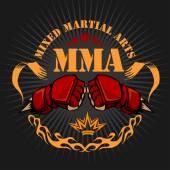 Fényképek MMA kevert harcművészeti jelkép jelvények