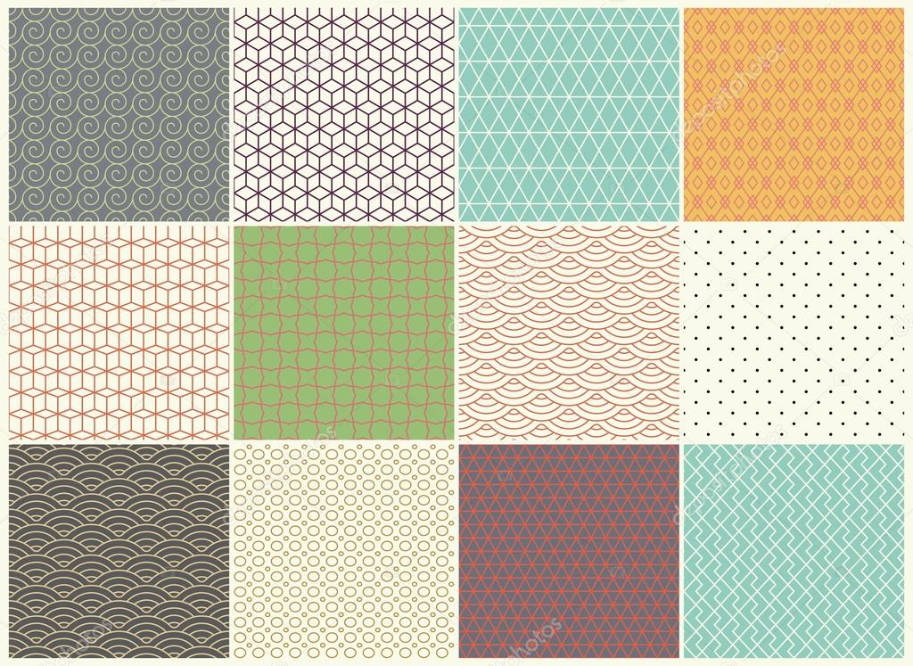 Pintar texturas   Patrones colección de diferentes vectores. Textura ...